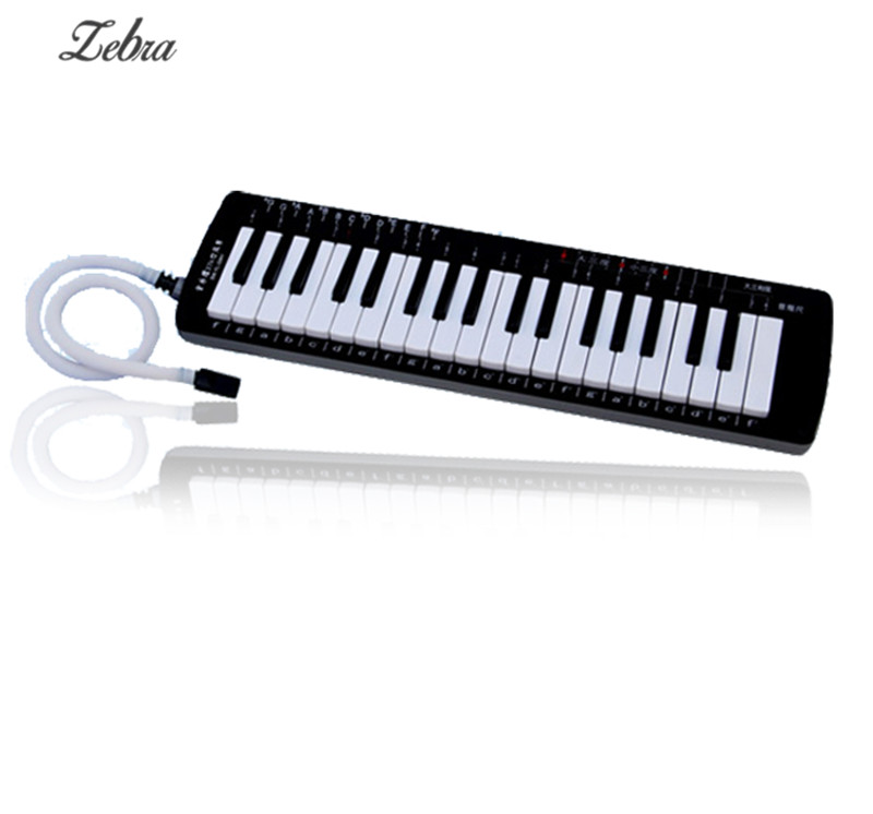 Swan 37 Keys Melodica Black Color Teaching Music-fundamentals Mouth Organ Melodica Musical Instruments Accordion Accessories new swan 32key melodica fine case nice tone yellow