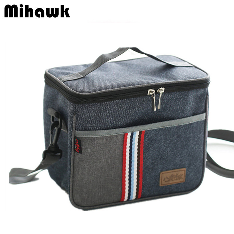 Shoulder Lunch Bag Tote Women Kids Thermal Insulated Cooler Storage Picnic Food Drink Bento Box Accessories Supplies Products