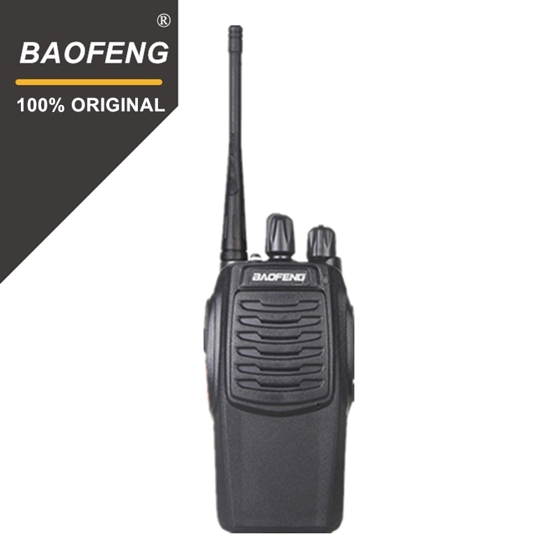 100% Original Baofeng BF C1 Walkie Talkie 16CH Two Way Radio Woki Toki UHF  Portable Ham Radio 5W Flashlight  PMR Transceiver