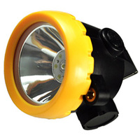 Cordless Led Cap Lamp 3W For Hunting Mining Camping Light Free Shipping