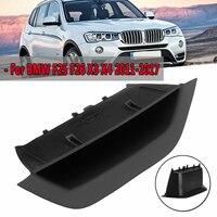 Front Left Door Interior Inner Handle Pull Trim For BMW F25 F26 X3 X4 2011 2017 Black Door Interior Panel Handle ABS PC Material