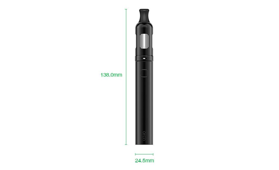 , Original Vaporesso Orca Solo Kit with 800mah Battery & 1.5ml Tank Vape Pen Electronic Cigarette Vaper Vaporizer Vaping MTL Vape