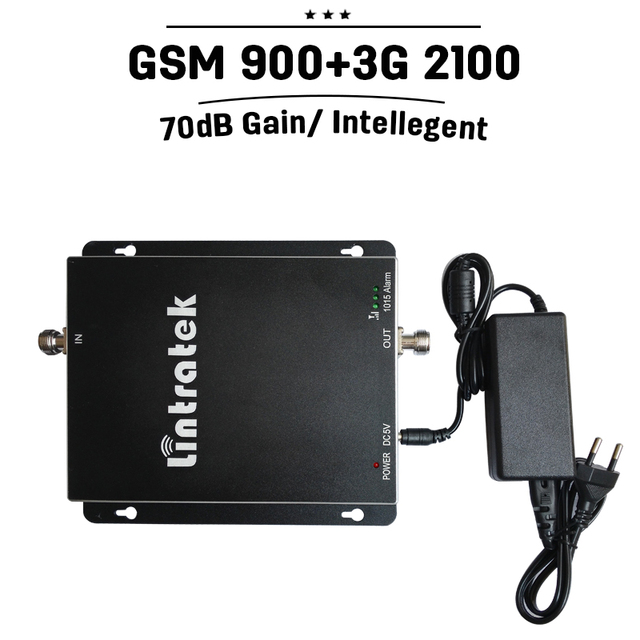 GSM 900 2100 Mobile Signal Booster 2g GSM 900Mhz UMTS WCDMA 3G 2100Mhz Cellular Amplifier Dual Band Cellphone Signal Repeater