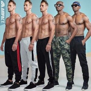Image 4 - Aimpact 綿ジョガー男性用カジュアルフィットアクティブジョギングパンツ男性スポーティーなトレースポケットズボン AM5030