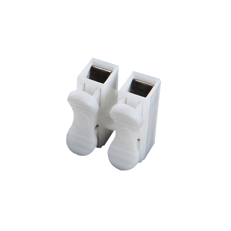CE 500pcs Mini CH 2 Wire Connector Press Type Electric Connection ...