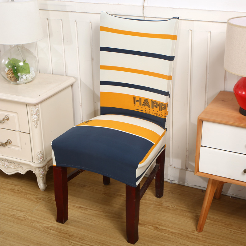 spandex elstico de polister cubre silla simple caribe rayas estampadas fundas para sillas para bodas partido