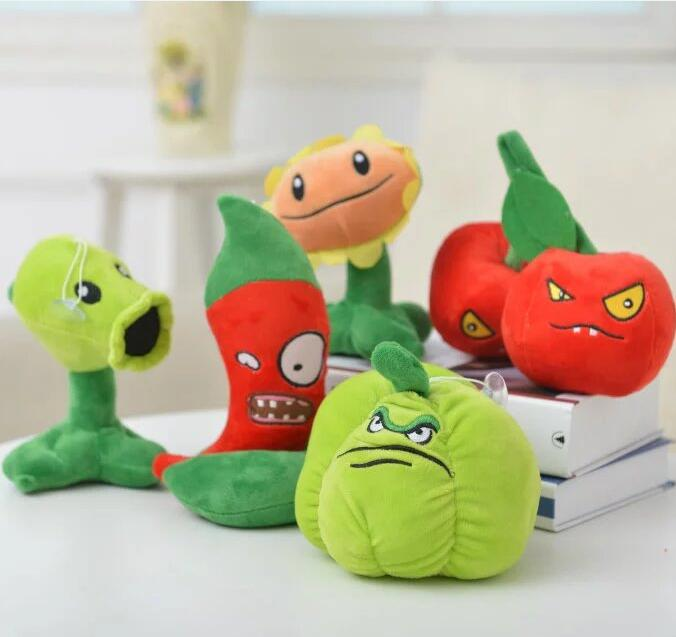 10 Styles Plants vs Zombies Plush Toys 30cm Plants vs Zombies Soft Stuffed Plush Toys Doll Baby Toy for Kids Gifts Party Toys hot sale plants vs zombies cucumber plush toy doll game figure statue baby toy for children gifts party toys