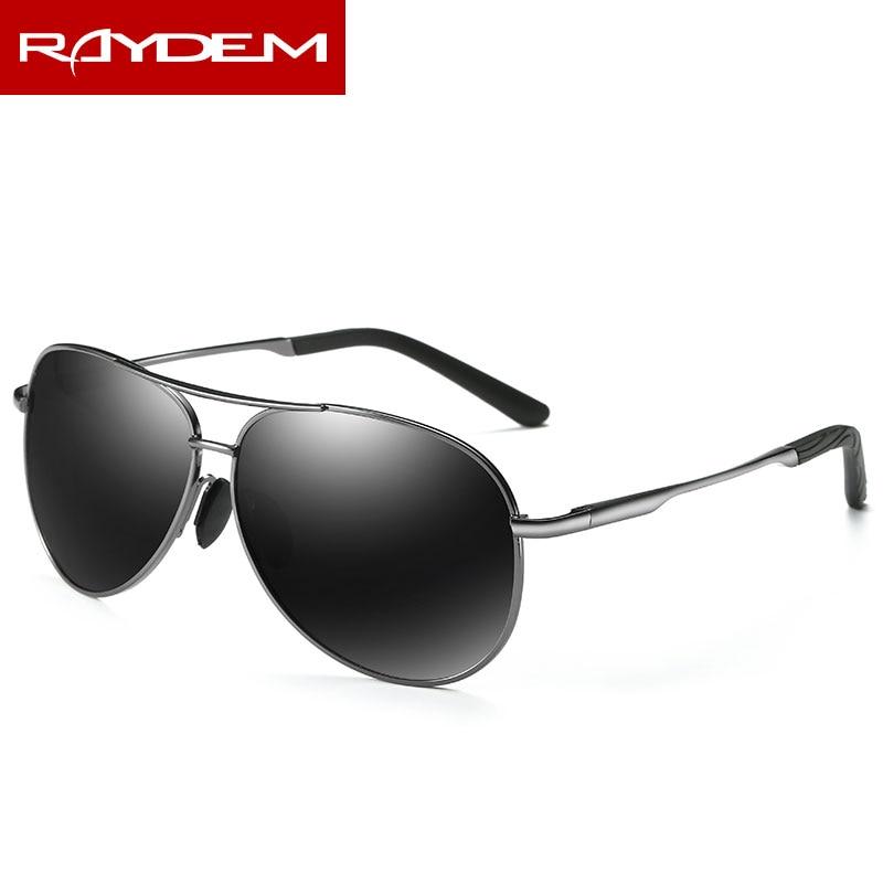 2018 Hot sale New polarized men sunglasses Alloy women Male Female Metal Black Silver resin Pilot sunglass mirror eyewear