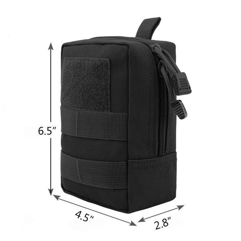 Tactical Pouch Military Molle EDC Bag Portable Waist Bag Outdoor Hunting Camping Accessory Bags Utility Gear With Pouch Patch Islamabad