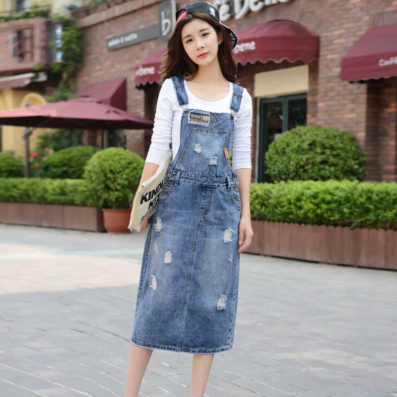Летние женские без рукавов модные джинсовые однотонные Комбинезоны Платье с карманами однобортный джинсы повседневные платья для женщин
