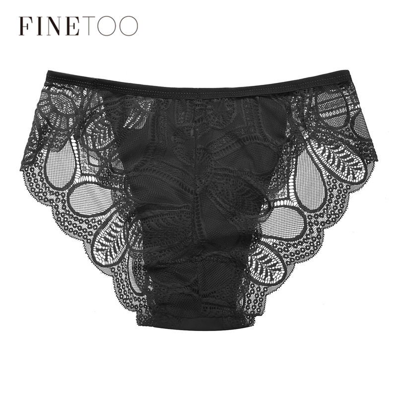 1Pc Women's lace   Panty   Fashion Floral Briefs Sexy Girls Underwear Female Bikini Sexy Ladies Briefs For Women 7 Colors Underpants