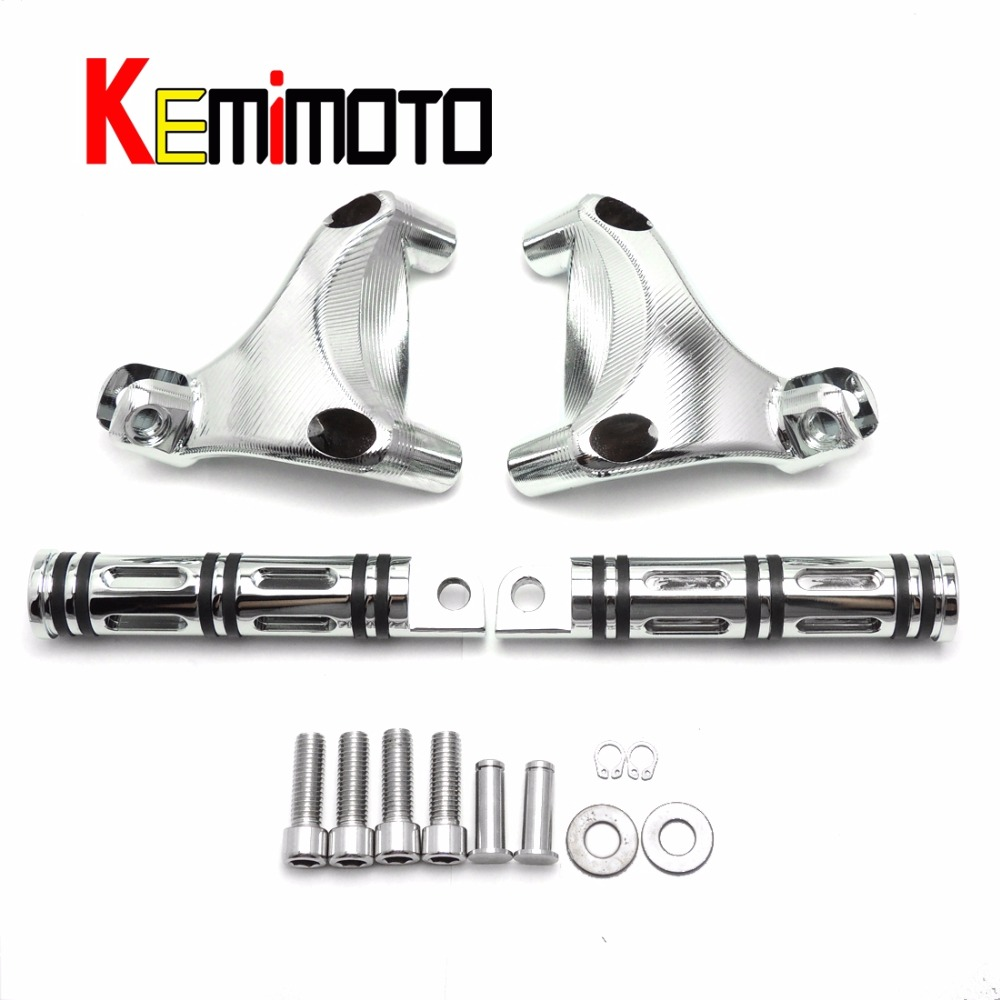For Motorcycle Footpegs Chrome Rear Passenger Foot pegs set for Sportster 883 and 1200 2006-2013 Accessories книги издательство аст москау сказочник