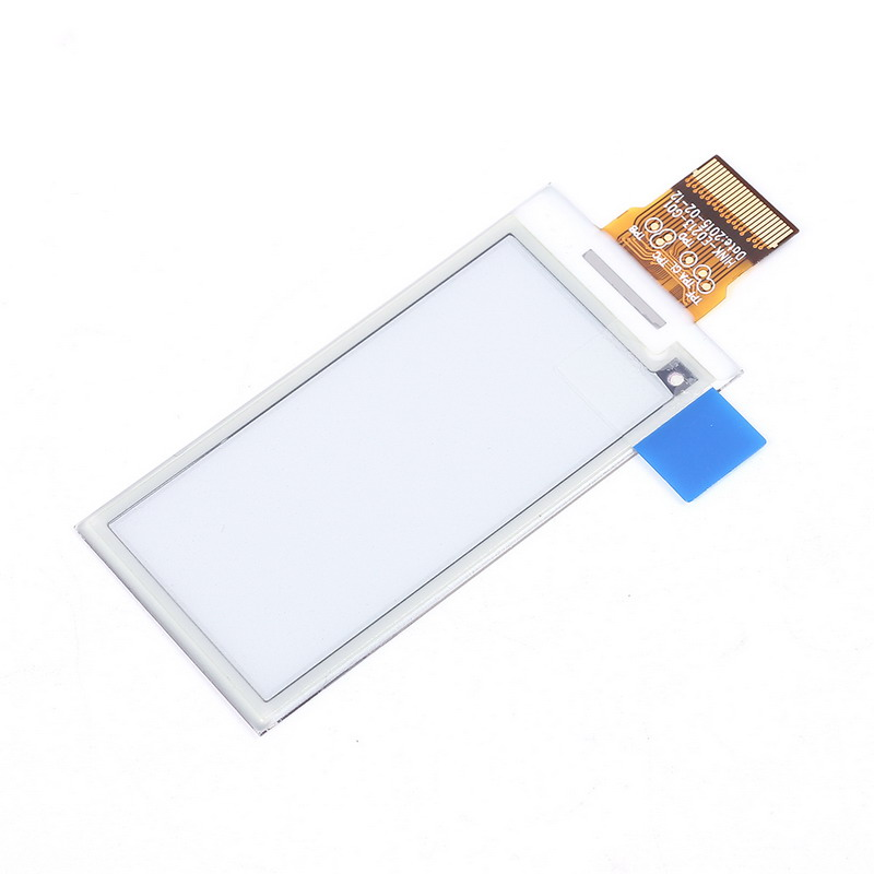 Electronic Ink Screen 2.1 inch E-Paper White/Black SPI Electronic Paper 250x122 Partial Refresh