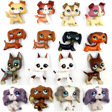 rare font b pet b font shop lps toys dog collection original old animal figure dachshund