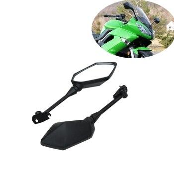 Motorcycle Rearview Rear View Mirrors For KAWASAKI NINJA 650R ER6F ER-6F 2009-2016 400R 2010-2014 Z1000SX 2011-2012