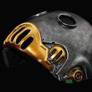 Image 5 - אימה האדם המכאני מסכות ליל כל הקדושים הלבוי סרט Masquerade Kroenen מלא פנים קסדת שרף מסכת למבוגרים גודל קוספליי אבזר