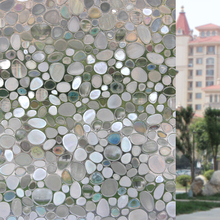 80cm wide*100cm long No glue static film frosted glass Electrostatic window stickers insulated sunscreen balcony bathroom