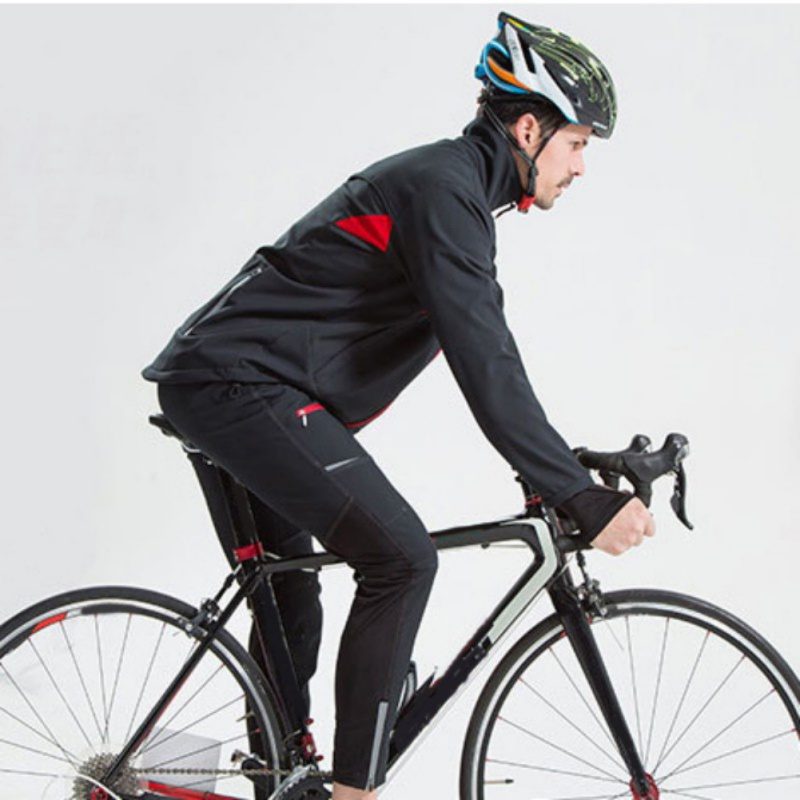 Bike Outdoor Riding Autumn And Winter Thick Fleece Warm Split Riding Suits Wind And Cold Hot Sell
