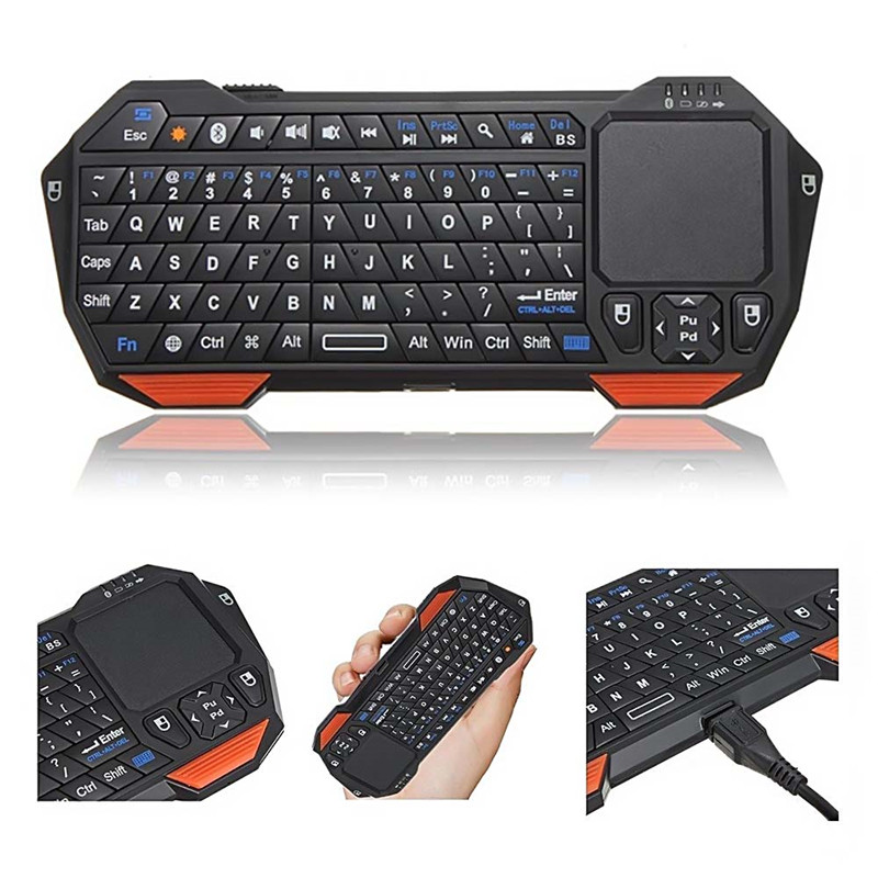 Wireless Bluetooth 3.0 Keyboard Portable Universal for Tablet Suit iOS Android Windows Mac Less 10m Working distance