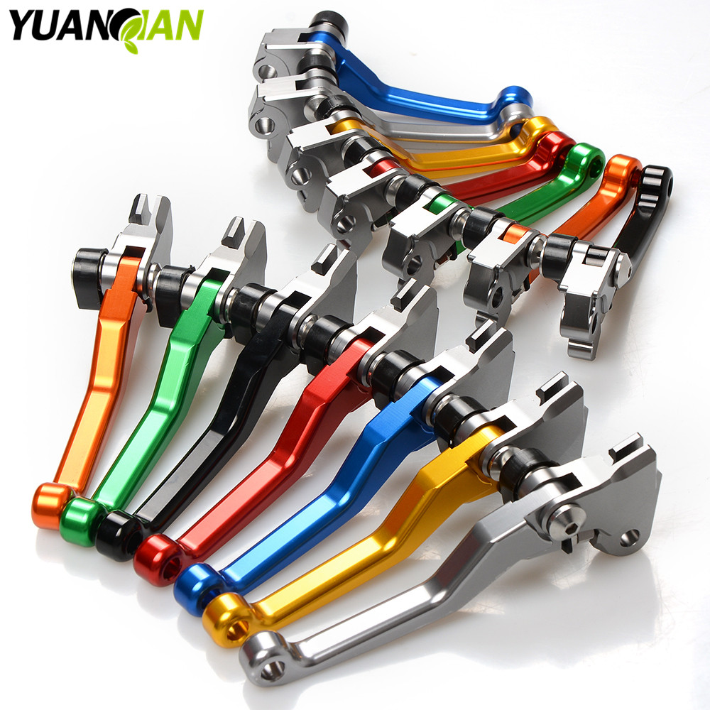 CNC Motocross Pivot Dirt Bike Brake Clutch Levers For Honda CRF 250/450 R CRF250X CRF 450R 450X XR230/MOTARD off road cnc pivot brake clutch levers for honda crf250r crf450r 07 15 crf motocross enduro supermoto dirt bike racing offroad motorcycle