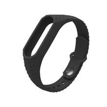 Newest Mijobs Silicone Aurora Smart Wristband For Xiaomi Mi Band 2 Straps