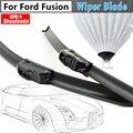 2 Unids Parabrisas Parabrisas Limpiaparabrisas Sin Soportes de Goma Suave Del Coche Para Ford Fusion 2006-2012