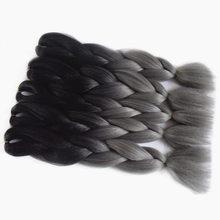 Braiding 100g/pc Synthetic Grey