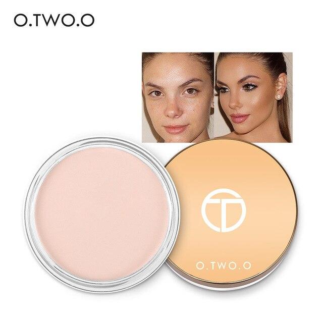 O. TWO. O maquillaje corrector crema Base cubierta completa crema de fundación Primer impermeable aceite de Control de larga duración