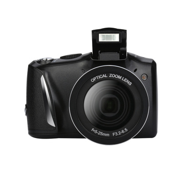 factory oem hoe sell max 16MP SLR digital camera DC-510T  2.4'' TFT display rechargeable llithium battery camera