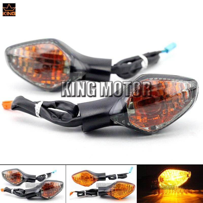 For HONDA NC700/NC750 X/S NC700D NC700X NC700S Motorcycle Accessories Rear Turn signal Indicator Light Lamp 2 wire Smoke