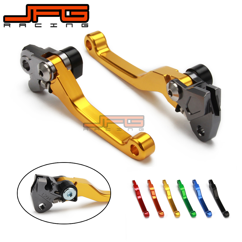 CNC Pivot Foldable Clutch Brake Lever For RMZ250 RMZ 250 04 07 08 2009 2010 2011 2012 2013 2014 2015 2016 2017 RMZ450 450 05-17 cnc foldable