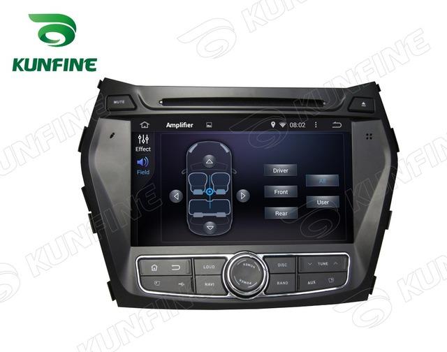 Quad Core 1024*600 Android 5.1 Del Coche DVD GPS Jugador de la Navegación Estéreo del coche para Hyundai IX45 Santa Fe 2013-2014 de Radio 3G Bluetooth