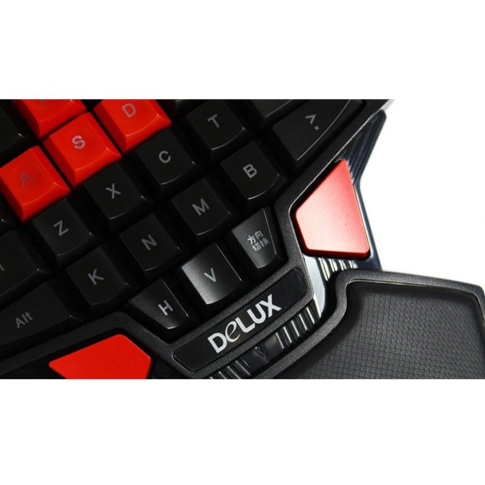 gaming keyboard duplo espaço botão usb teclado