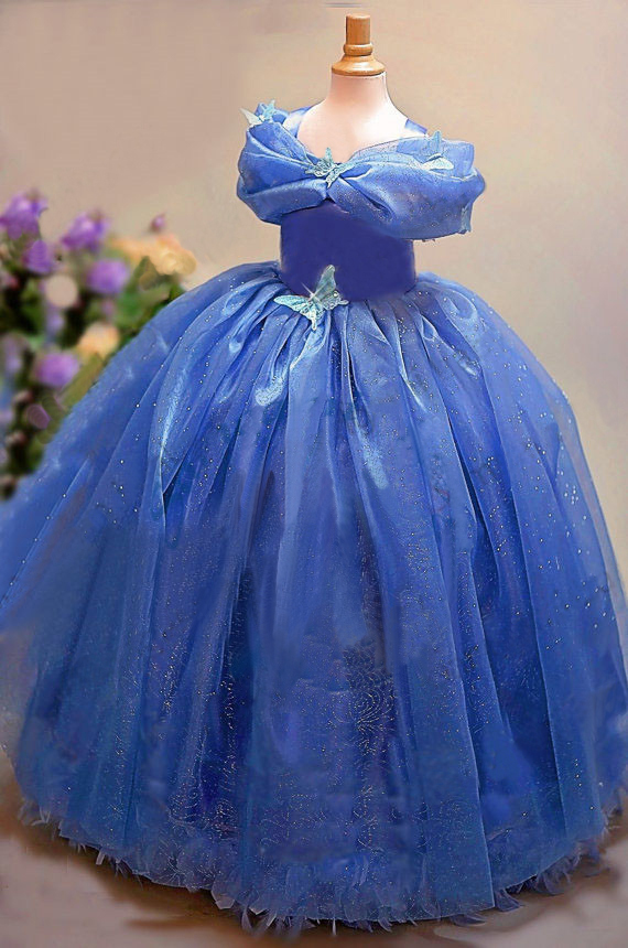 baby girls dress summer 2016 princess cinderella dress halloween ...