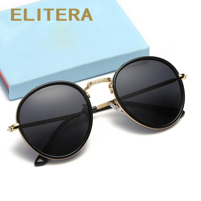 5e5f42bb55 ELITERA Brand Designer Sun Glasses for Children Cool Mirror Polarized Metal  Frame Kids Sunglasses Children s Glasses