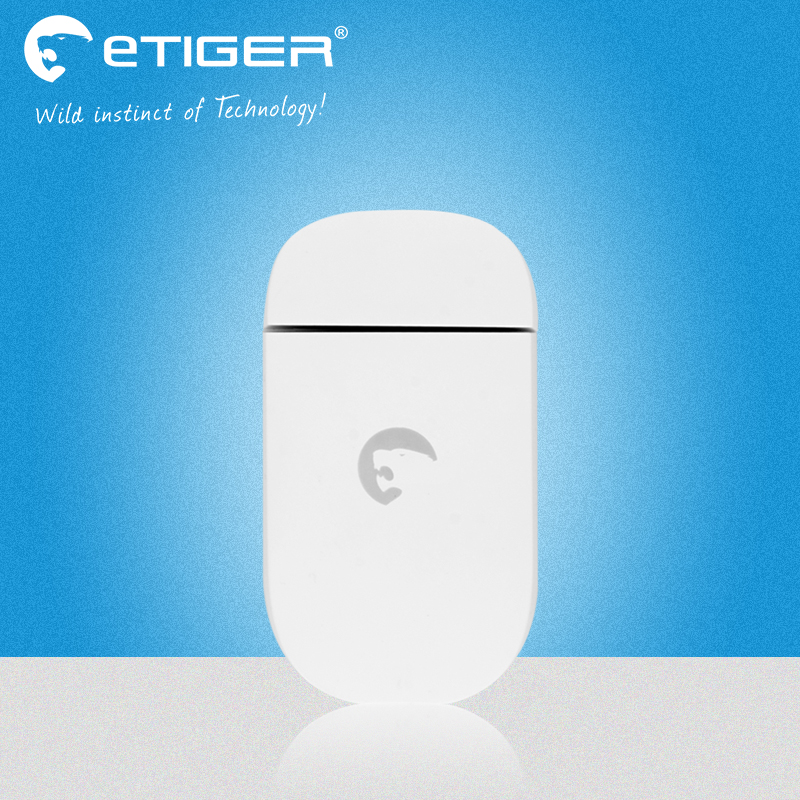 Big discount ES-D3C 433Mhz Etiger Wireless door magnetic sensor window door sensor for S4 and V2 Wifi GSM alarm system wireless multi function door sensor magnetic window detector for security alarm system automatic door sensor 433mhz