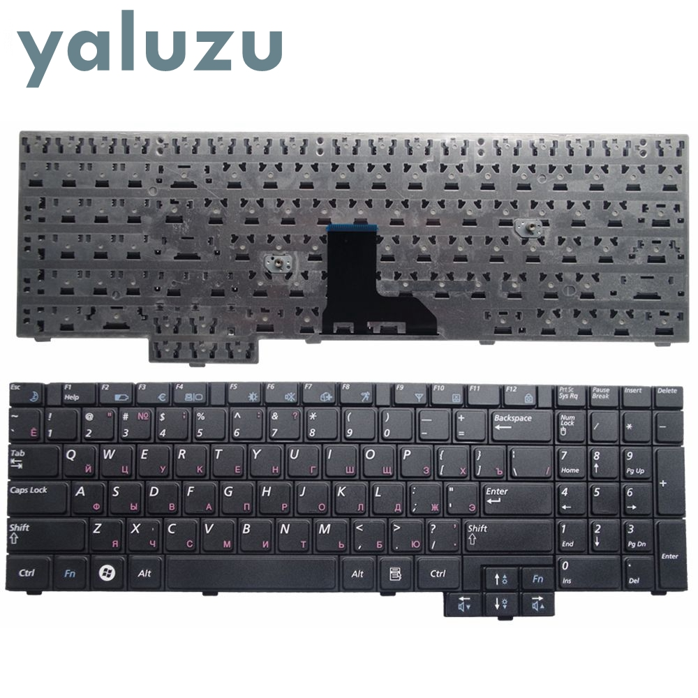 YALUZU RU Black New FOR Samsung R528 R530 R540 R620 R517 R523 RV508 R525 Laptop Keyboard Russian BLACK
