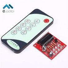 3-5 В 8-канальный ИК-приемник доска задержки реле вождения модуль + 9 ключи Дистанционное управление передатчик self блокировки Управление;