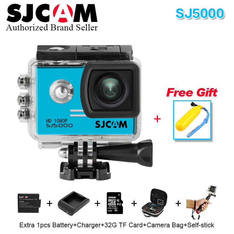 100 % Original SJCAM Series SJ 5000 Action Camera 1080P Full HD Waterproof Sport DV Helmet Camera14MP Ultra Web vs go pro camera