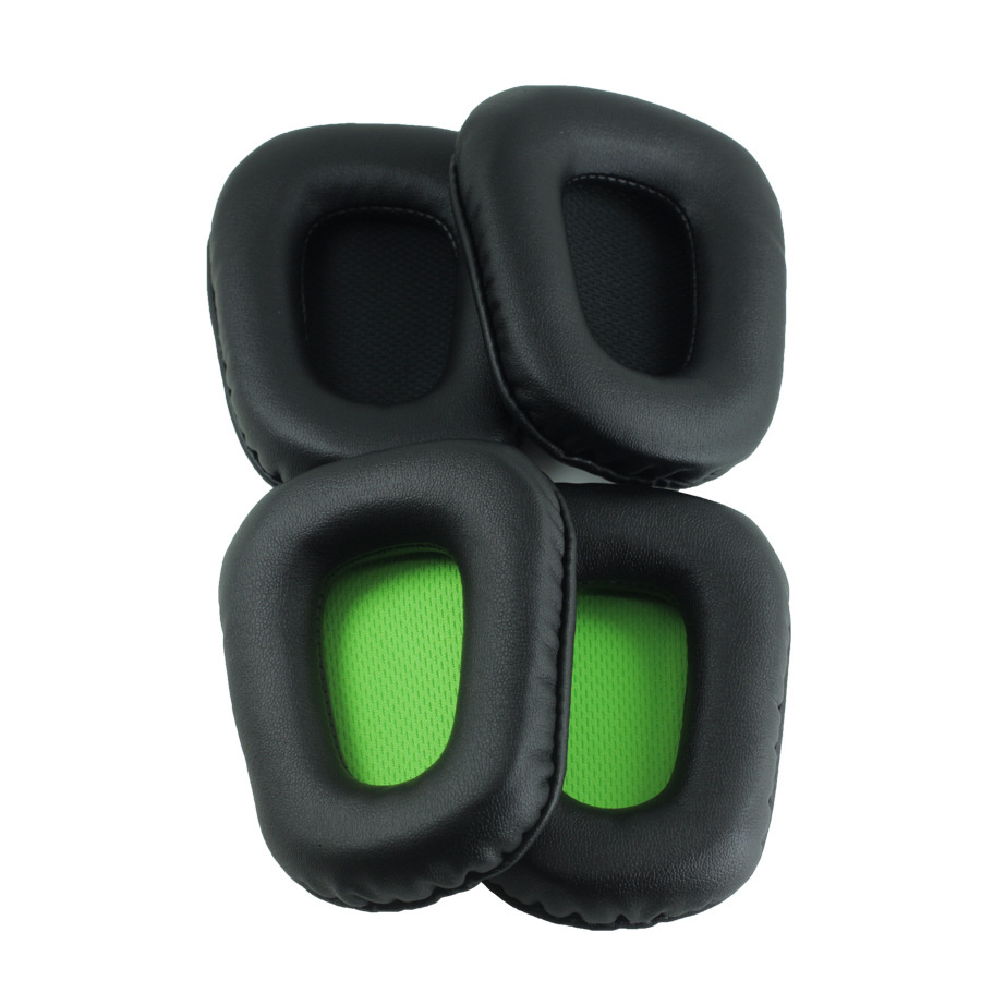 1 Pair Foam Ear Pads Cushions for Razer Electra Headphones High Quality Black Green 12 19 in Earphone Accessories from Consumer Electronics