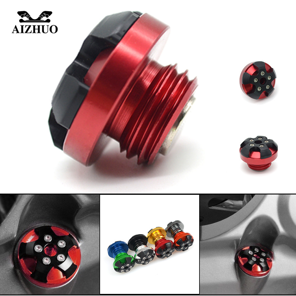 M20*2.5 Motorcycle Oil Cup CNC Engine Oil Filler Cup Cap For honda CRF1000L AFRICA TWIN CBF1000 A CB600F CBF600 SA CBR600F