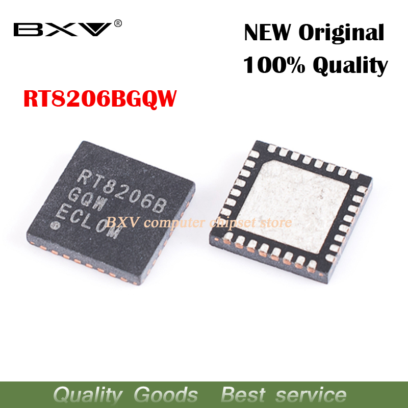 Free Shipping 5pcs RT8206BGQW RT8206B QFN-32 New Original