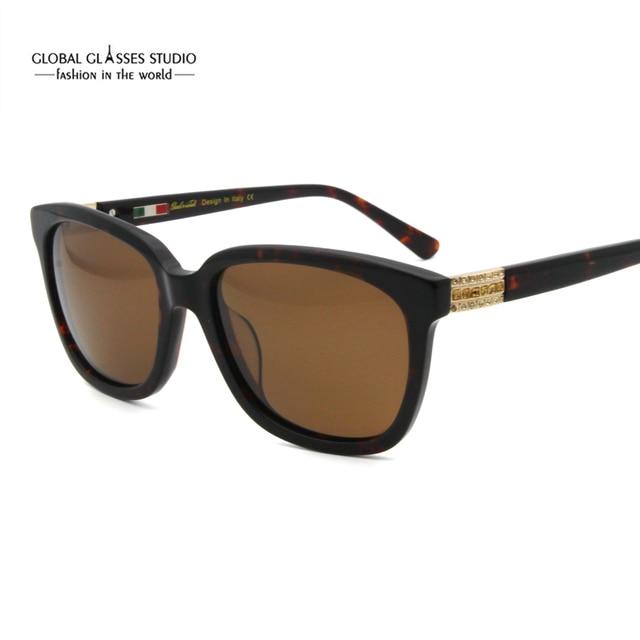76a0da6a06e01 Free Shipping Diamond Eyewear Wholesale Rhinestone Women Sun Glasses With  400 UV Polarized Lense Lunette De Soleil 6603R