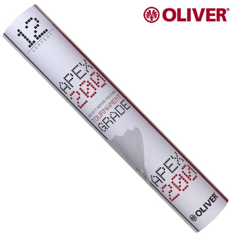 Oliver apex 200 volant de badminton en plumes d'oie de qualité spéciale