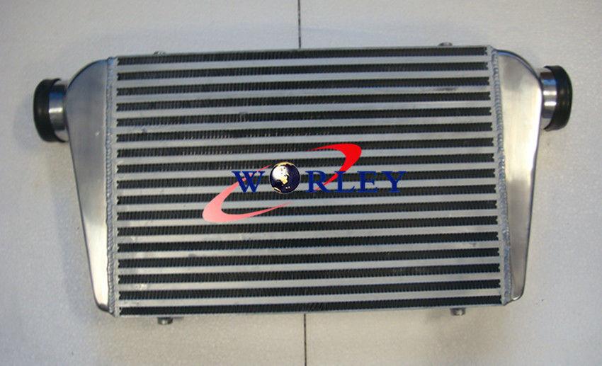 FOR Aluminum Intercooler 450 X 300 X 75mm Front Mount 450*300*75 Bar /& Plate