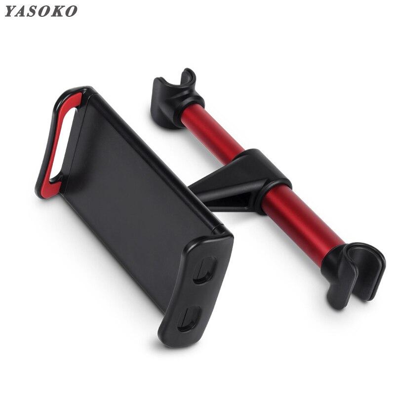 Car Back Seat Phone Holder Tablet Mobile Phone Bracket Universal Car Headrest Holder 360 Rotatable Stand for iPad tablet phone