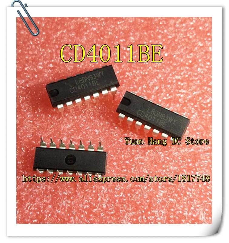 20 pz/lotto CD4011BE CD4011B CD4011 4011 DIP-14 Quattro 2 INGRESSI porta NAND chip di logica20 pz/lotto CD4011BE CD4011B CD4011 4011 DIP-14 Quattro 2 INGRESSI porta NAND chip di logica
