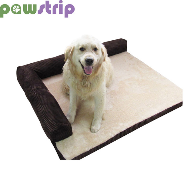 Pawstrip 3 Size Soft Dog Sofa Bed Warm Cat Beds Stain Resistant Large