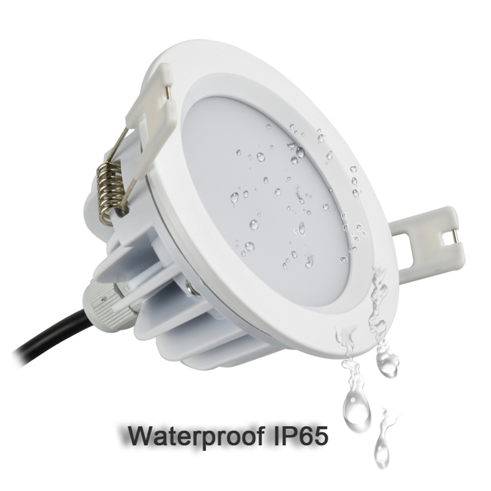 Open Hole Size 80mm 3inch Ac 85-265v Ip65 For Outdoor Bathroom Sauna Room Ceiling Spot Light Aromatic Character And Agreeable Taste 5w 7w Led Downlight 90mm 3.5inch Led Downlights Led Lighting