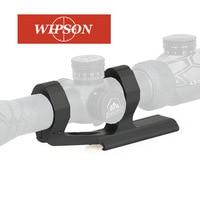 WIPSON Bubble Level Spirit Ring Scope Mount 25.4mm / 30mm QD Rings Mount For 20mm Picatinny Rail for Gun AR15 Rifle Optic